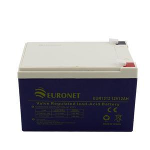 باتری یو پی اس 12 ولت 12 آمپر ساعت یورونت مدل EUR1212