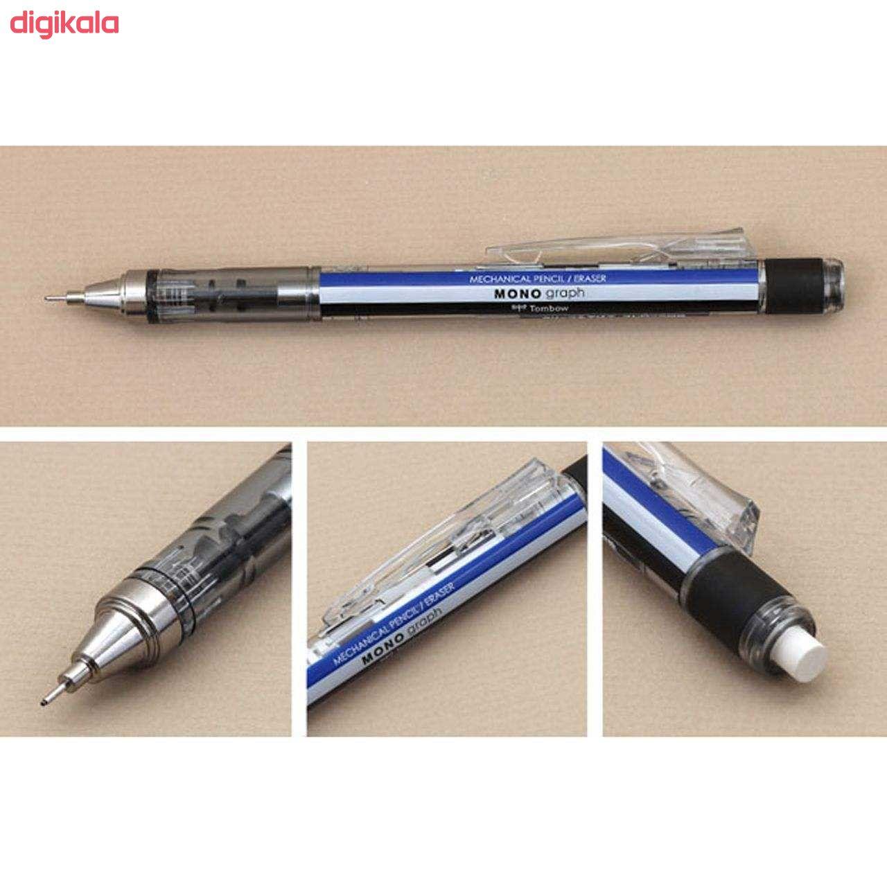 مداد نوکی 0.5 میلی متری تومبو مدل MONO GRAPPH main 1 23