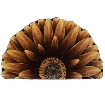 پادری زرباف طرح گل داوودی سایز 80×47 سانتی متر