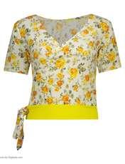 ست تی شرت و شلوارک زنانه کد 001 -  - 3
