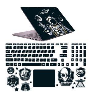 استیکر لپ تاپ صالسو آرت مدل 5093 hk به همراه برچسب حروف فارسی کیبورد
