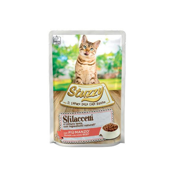پوچ غذای گربه استوزی مدل بیف وزن 85 گرم