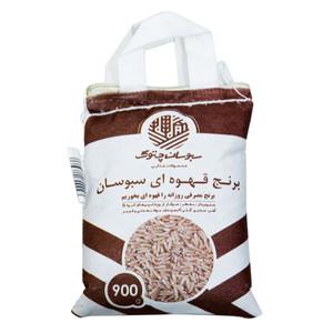 برنج قهوه ای سبوسان چتوک - 900 گرم