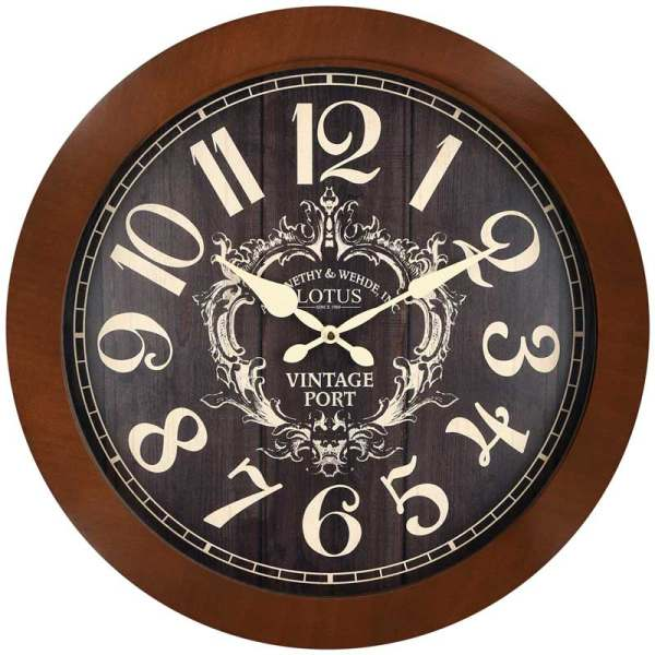 ساعت دیواری لوتوس کد W-9822