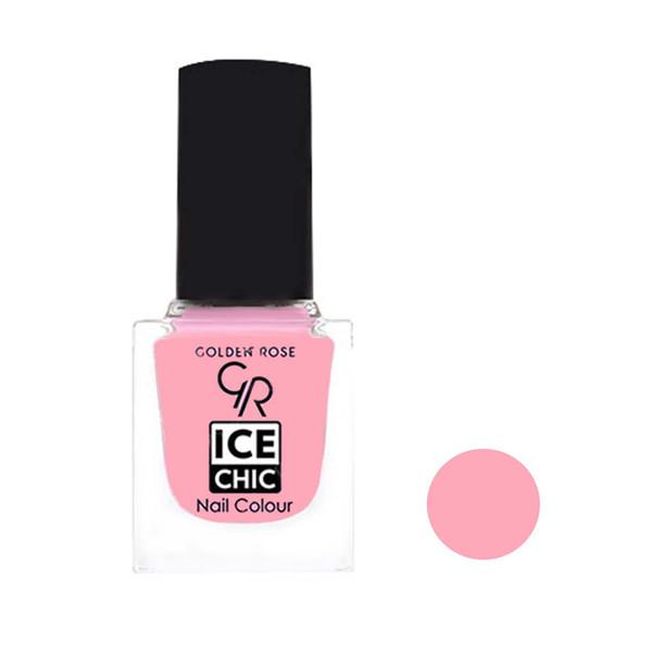 لاک ناخن گلدن رز مدل Ice chic شماره 26