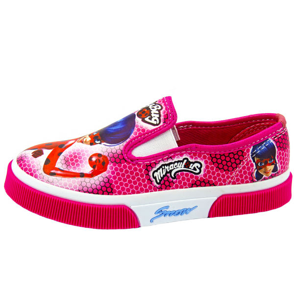 کفش دخترانه رشد طرح دختر کفشدوزکی