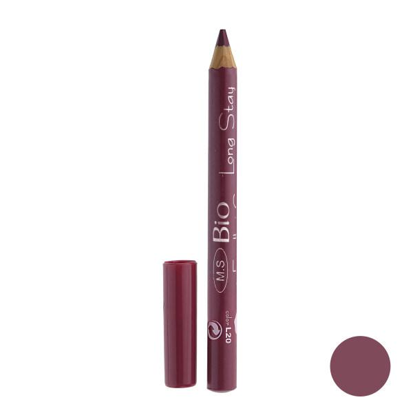 رژ لب مدادی بی یو مدل لانگ استار شماره L20