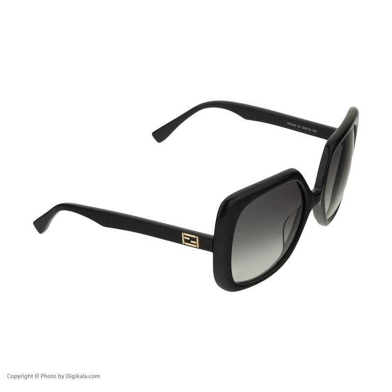 عینک آفتابی زنانه فندی مدل 0107