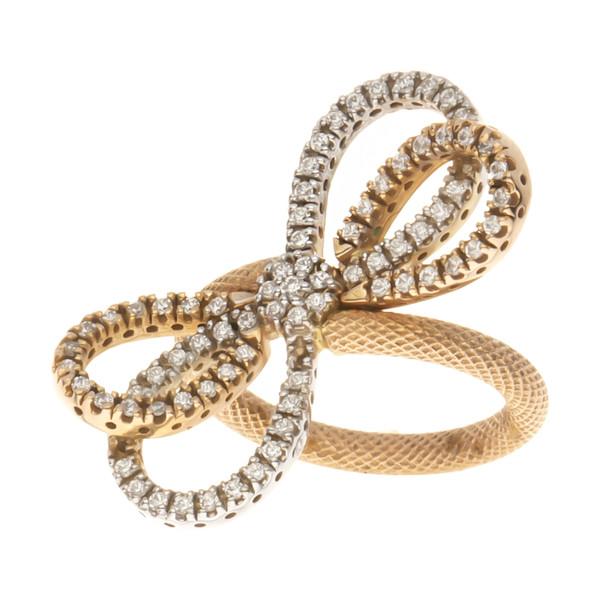 انگشتر طلا 18 عیار زنانه مایا ماهک مدل SR0042
