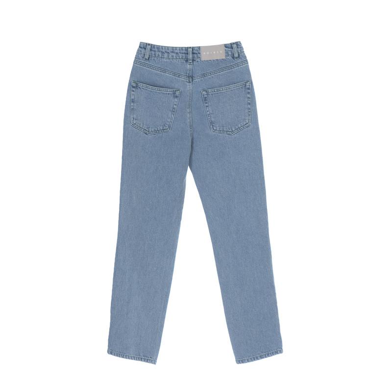شلوار جین مردانه کوی مدل 137 رنگ روشن آبی