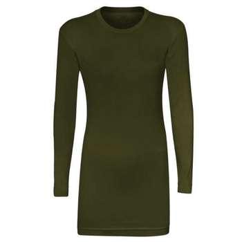 زیر سارافونی زنانه مدل AS1044 رنگ سبز یشمی