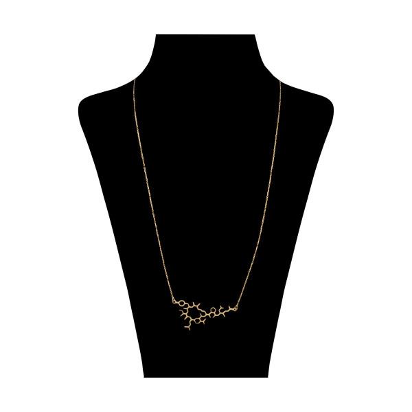 گردنبند طلا 18 عیار زنانه نیوانی مدل N1070