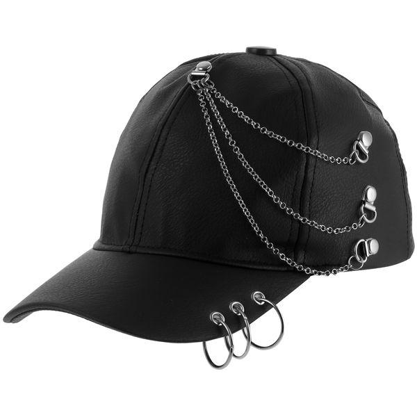 کلاه کپ مردانه مدل حلقه کد 086881