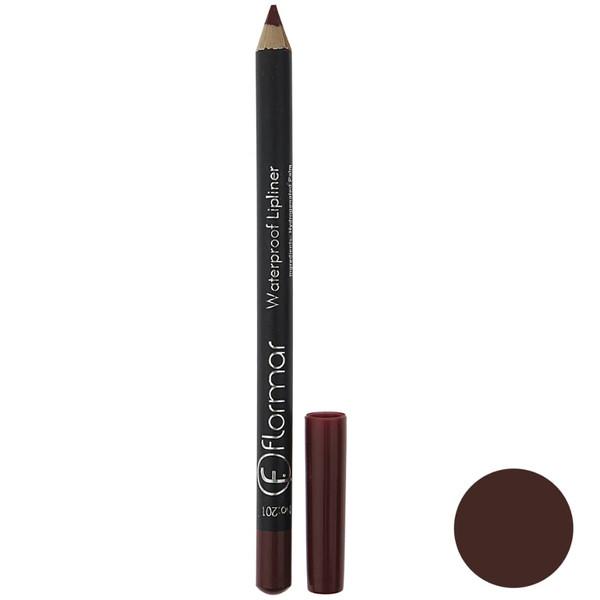 مداد لب فلورمار مدل Lipliner شماره 201
