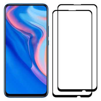 محافظ صفحه نمایش مدل FCG مناسب برای گوشی موبایل هوآوی Y9 Prime 2019 بسته دو عددی
