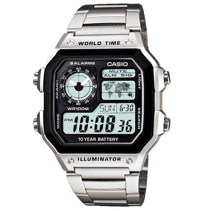 قیمت و خرید                      ساعت مچی دیجیتال مردانه کاسیو مدل AE-1200WHD _ 002