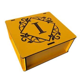 جعبه هدیه چوبی مدل j128