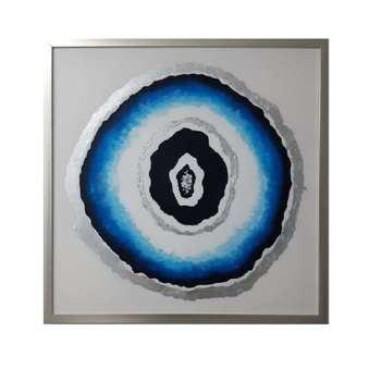 تابلو نقاشی مدل چشم نظر کد 01