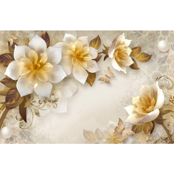 پوستر دیواری مدل گل و شکوفه کد 003