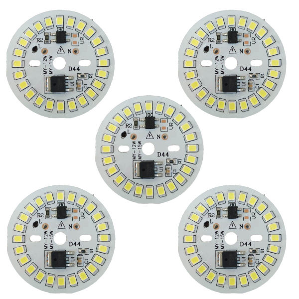چیپ ال ای دی 12وات مدل D44 بسته 5 عددی