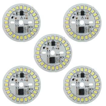 چیپ ال ای دی 15 وات مدل D44 بسته 5 عددی