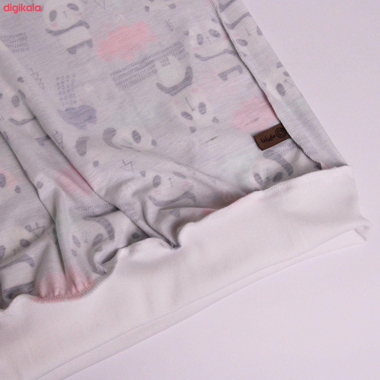 ست تی شرت و شلوار زنانه ماییلدا مدل 3587-1 main 1 5