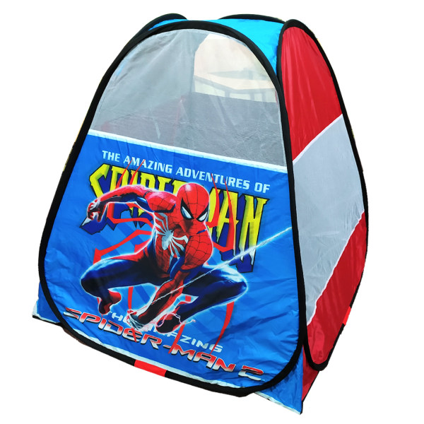 چادر بازی کودک  طرح مرد عنکبوتی مدل ریلکس