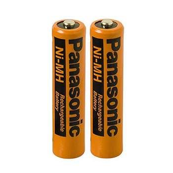 باتری قابل شارژ تلفن بی سیم پاناسونیک مدل  Ni-MH/HHR-55AAAB-MasND بسته دو عددی