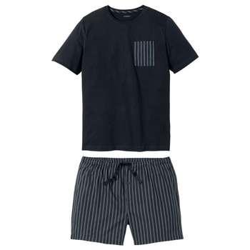 ست تی شرت و شلوارک مردانه لیورجی مدل NBRah2020