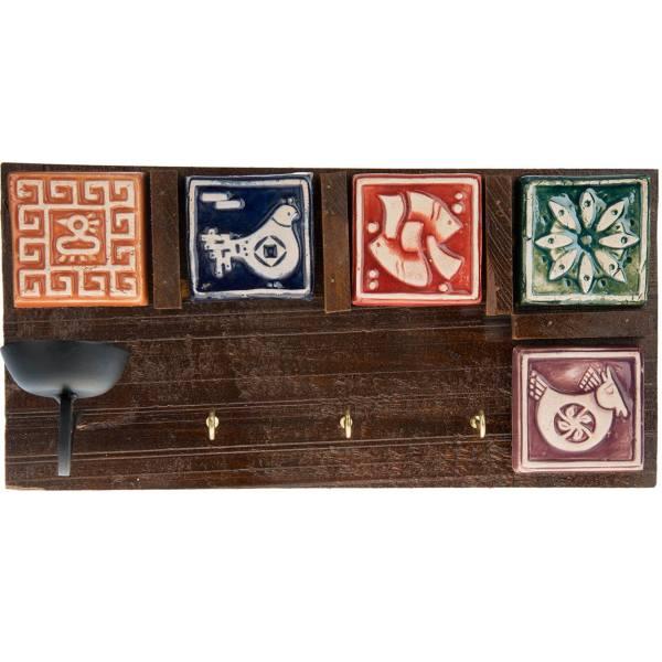 خرید                      جاکلیدی چوبی کد 66015