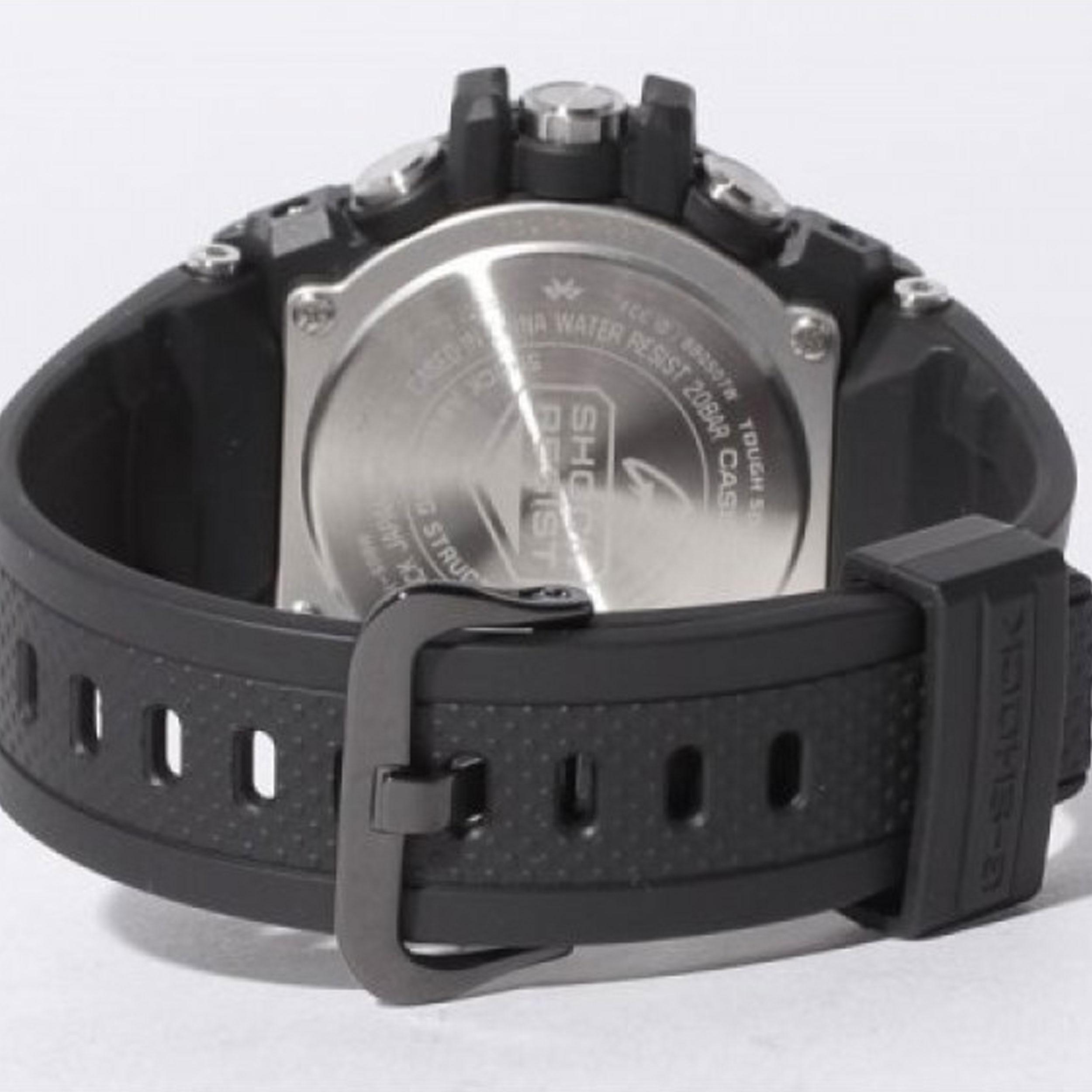 ساعت مچی عقربهای مردانه کاسیو مدل GST-B100B-1A3DR
