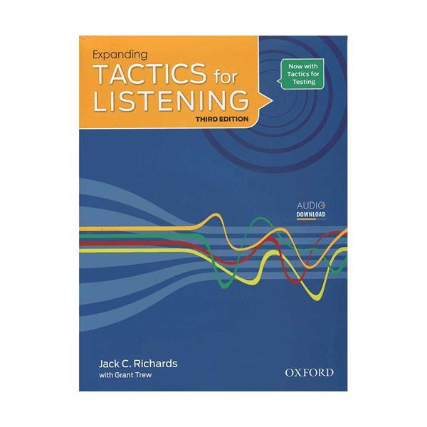 کتاب Tactics for Listening 3rd expanding اثر Jack C. Richards انتشارات اکسفورد