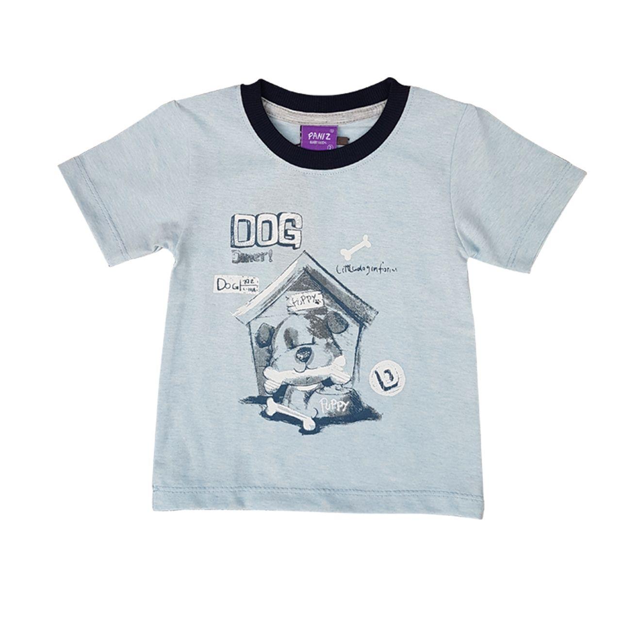 ست تیشرت و شلوارک نوزادی پسرانه کد PE -  - 3