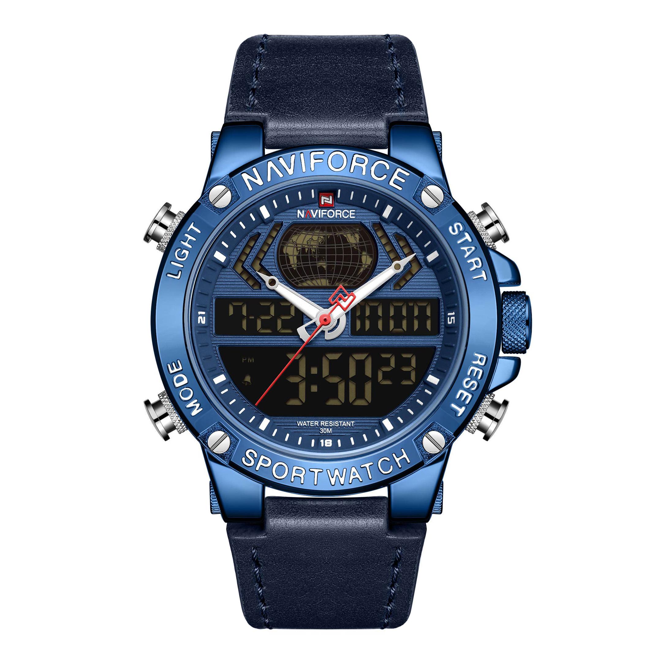 ساعت مچی دیجیتال مردانه نیوی فورس مدل NF9164M - SO