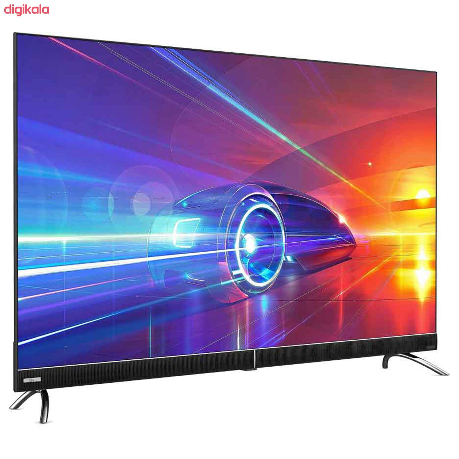 تلویزیون ال ای دی هوشمند جی پلاس مدل GTV-50KU722S سایز 50 اینچ main 1 2