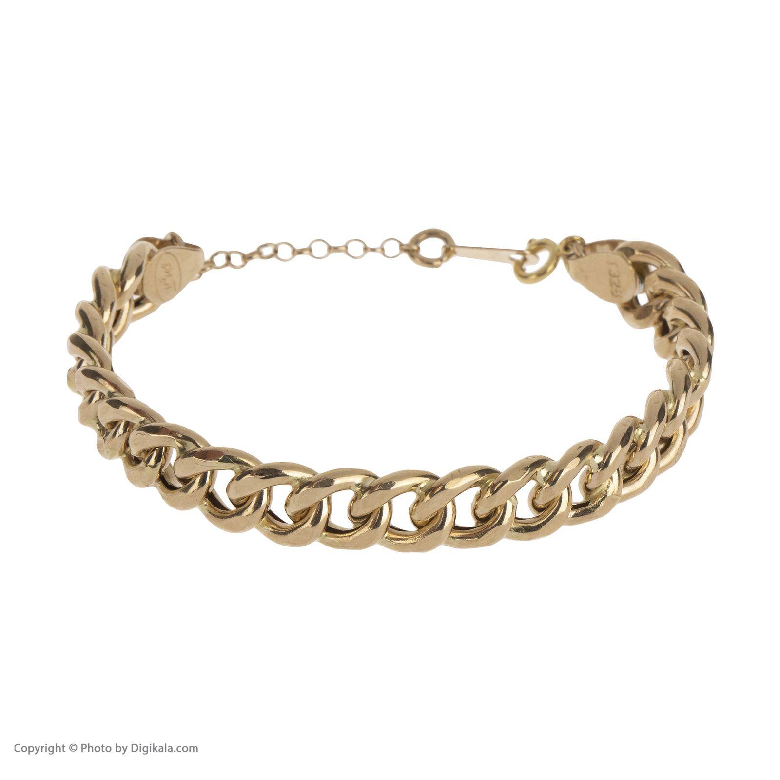 دستبند النگویی طلا 18 عیار زنانه مایا ماهک مدل MB1049 -  - 3
