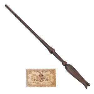 اسباب بازی زینتی مدل چوب دستی هری پاتربه همراه کارت قطار