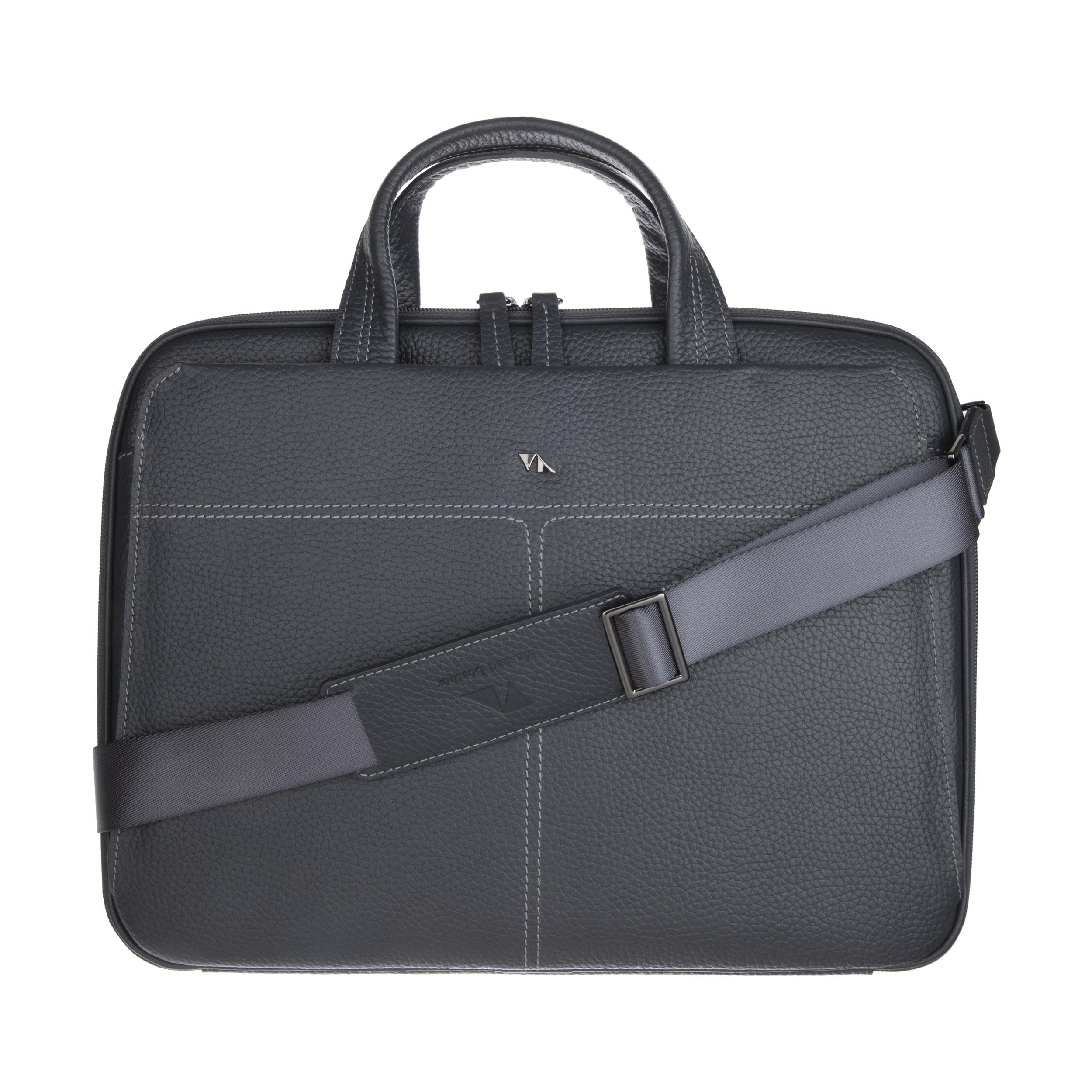 کیف اداری مردانه چرم مشهد مدل A5558-004
