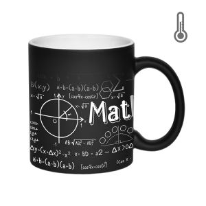 ماگ حرارتی زیگ زاگ طرح ریاضی کد 1324