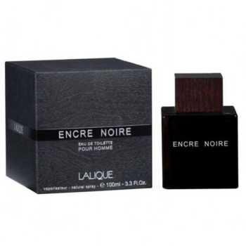 ادوتویلت مردانه لالیک مدل Encre Noire حجم ۱۰۰ میلی لیتر