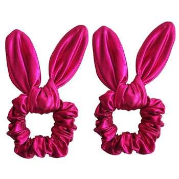 کش مو دخترانه مدل خرگوش بسته 2 عددی