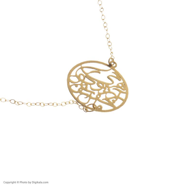 دستبند طلا 18 عیار زنانه مایا ماهک مدل MB1101