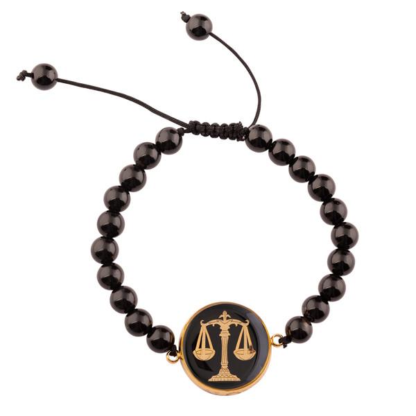 دستبند زنانه الون طرح ماه مهر کد ONI101