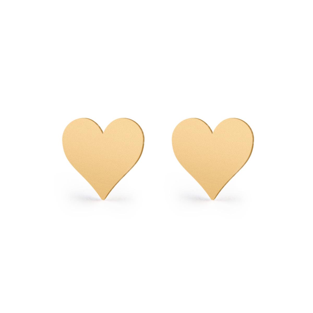 گوشواره طلا 18 عیار زنانه ریسه گالری کد 3024