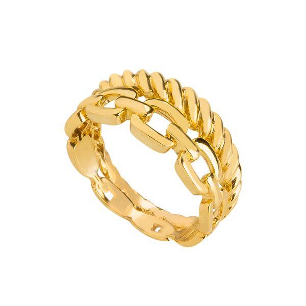 انگشتر طلا 18 عیار زنانه کاکامی مدلپورتوفینو کد 304