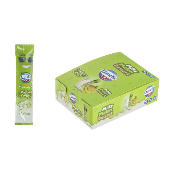 دسر شیری طالبی دنت - 25 گرم بسته 15 عددی
