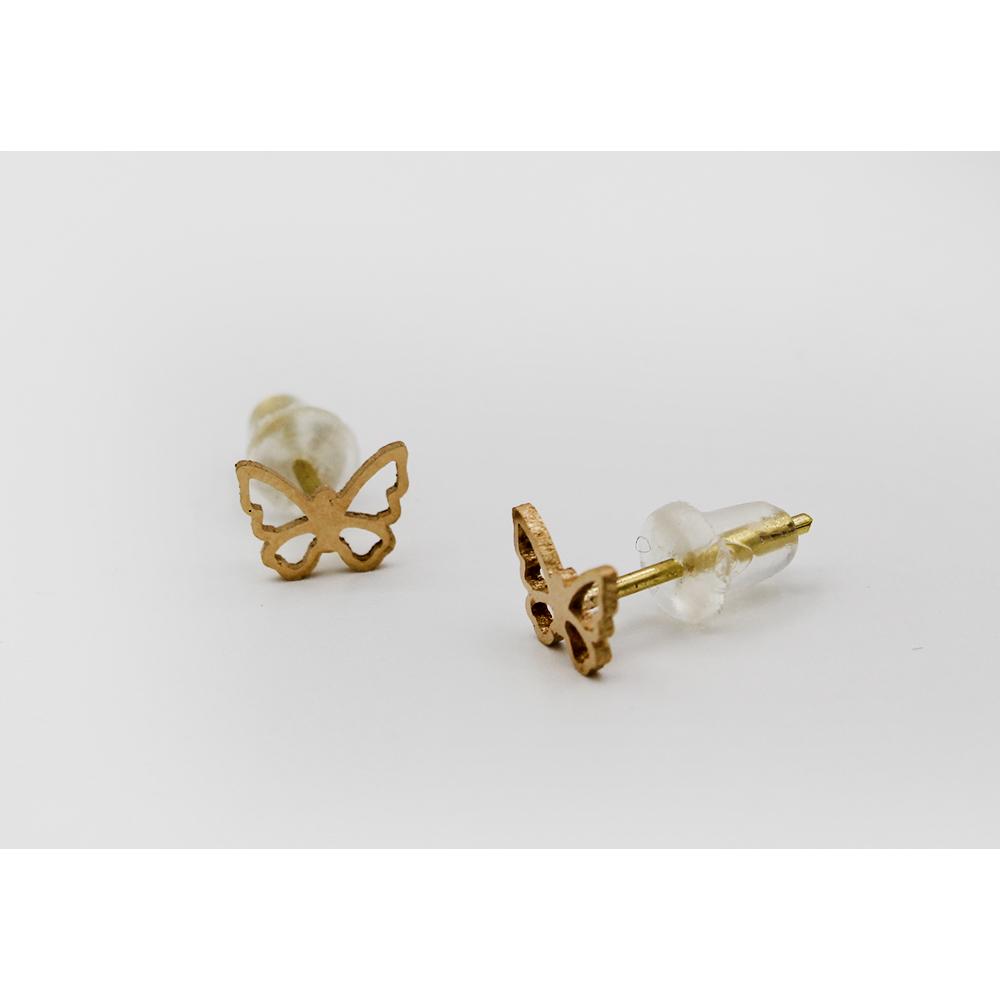 گوشواره طلا 18 عیار دخترانه رزالیا مدل Diamond-GEA-011