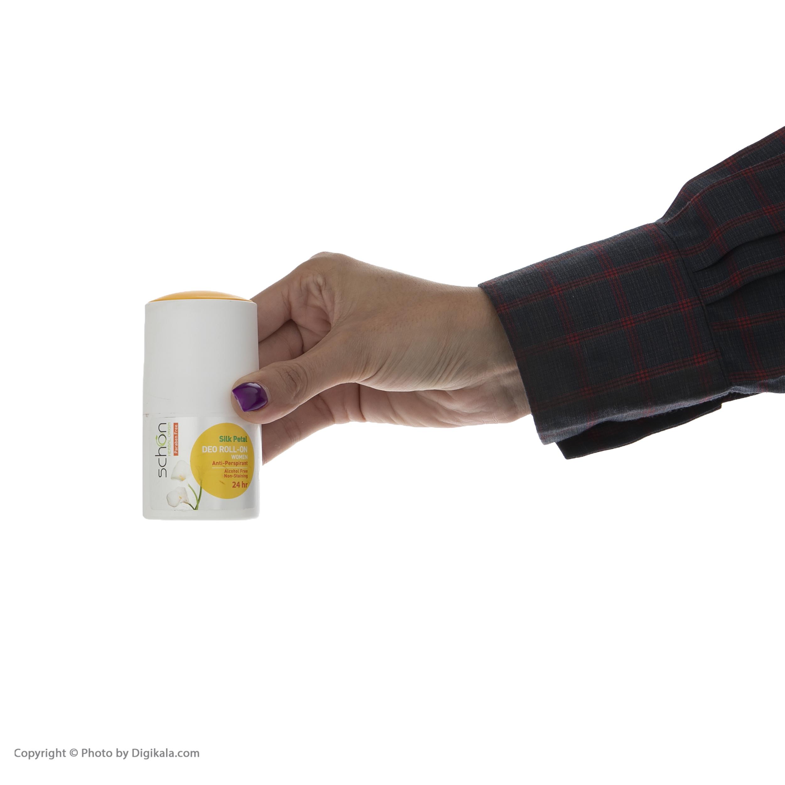 رول ضد تعریق زنانه شون مدل Silk Petal حجم 50 میلی لیتر main 1 1