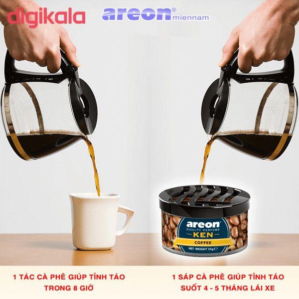 خوشبو کننده خودرو آرئون مدل Ken Coffee main 1 2