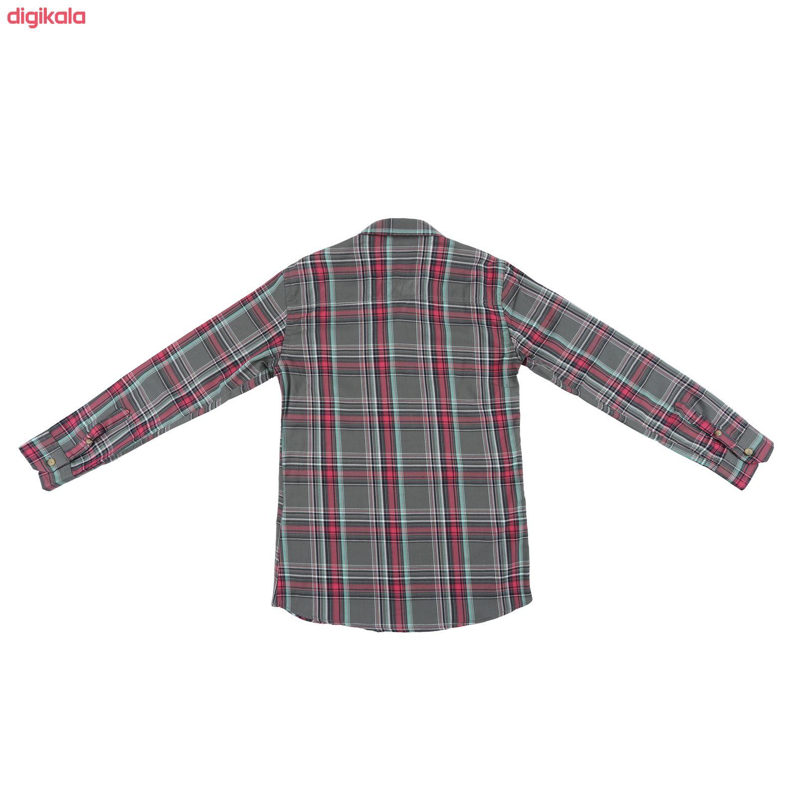 پیراهن پسرانه ناوالس کد G-20119-GY main 1 2